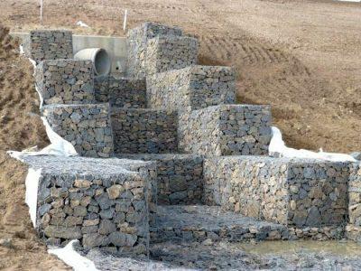 thiết kế rọ đá