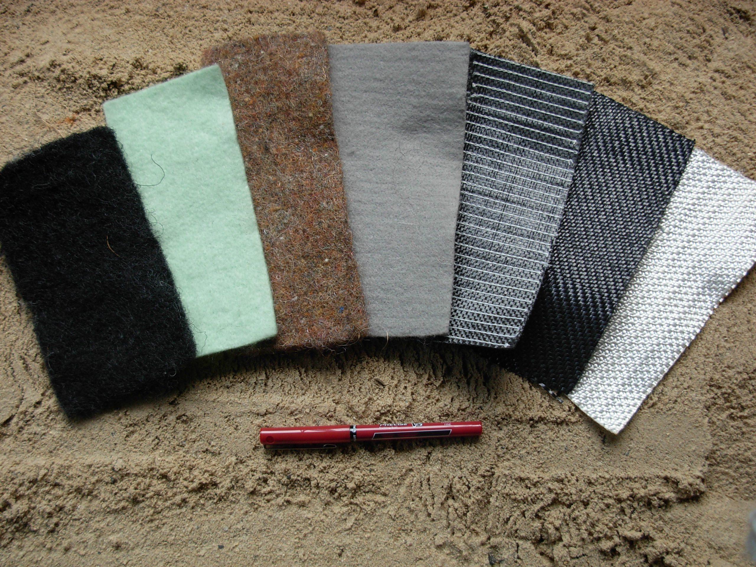 các loại vải địa kỹ thuật